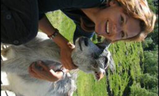Hils på geitene i Flåmsdalen. Foto: Stine Okkelmo