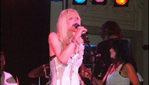 Courtney Love er mer kjent for sin utagerende festing enn musikken. Foto: Tom Edwards