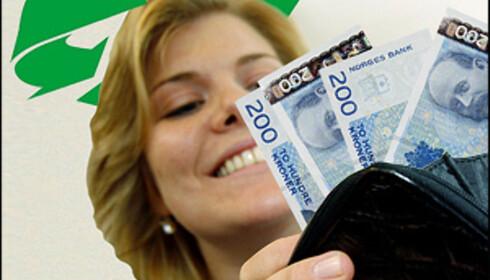 Forbrukerne må belage seg på punge ut for miljøet. Betaler du klimaregningen med et smil? Foto: Per Ervland Foto: Per Ervland