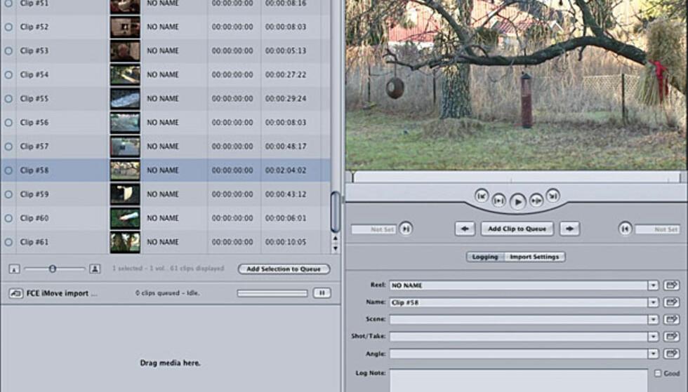 Videoredigering: Final Cut Express 4