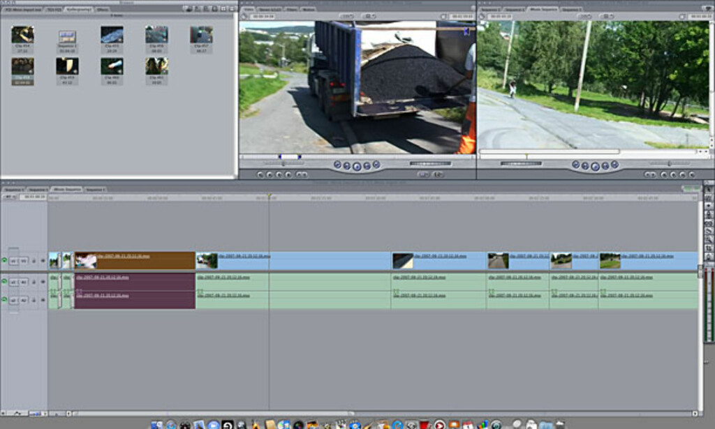 image: Videoredigering: Final Cut Express 4