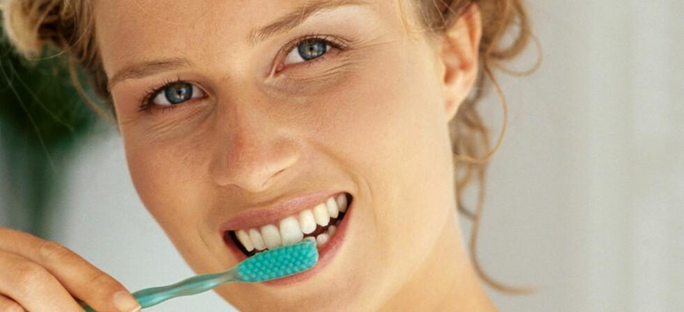 Husk tannbørsten på date