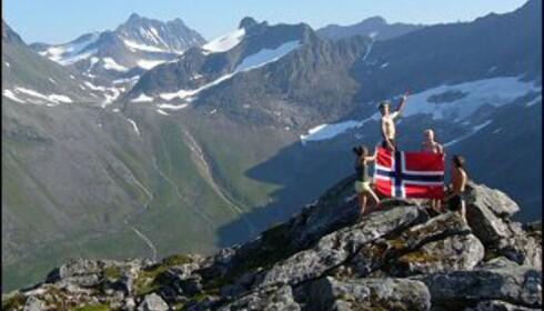 Norge, vårt Norge. Ingen tvil om at vi bor i et vakkert land. Foto: Ranveig