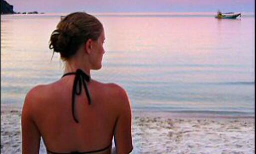 Unge kvinner vil gjerne til en strand i ferien.  Foto: Per David Jonsson Foto: Per David Jonsson