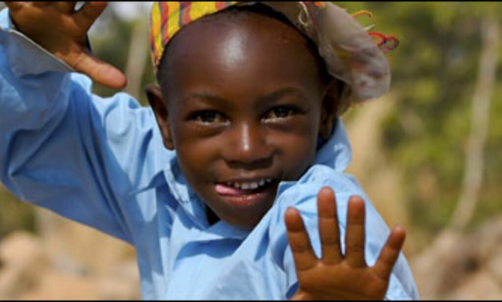 Glad gutt i Botswana.Foto: Andreas Doppelmayr  Foto: Andreas Doppelmayr