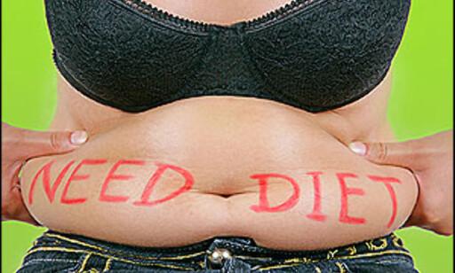 Fedme er et stort globalt problem. Illustrasjonsfoto: iStockphoto.com Foto: iStock