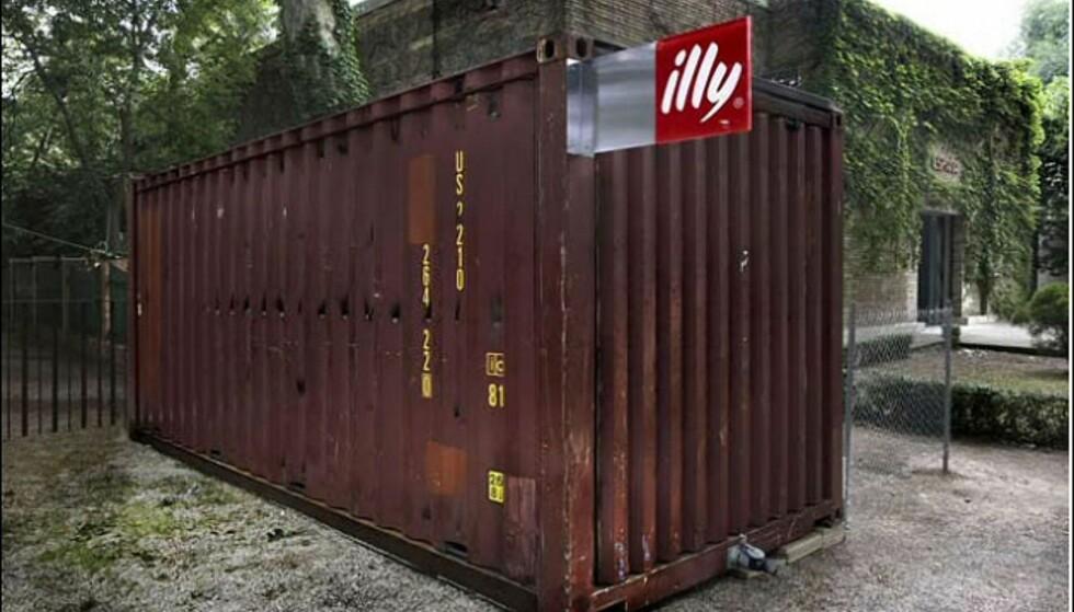 En liten container... Foto: Evan Sung Foto: Illy/Evan Sung.
