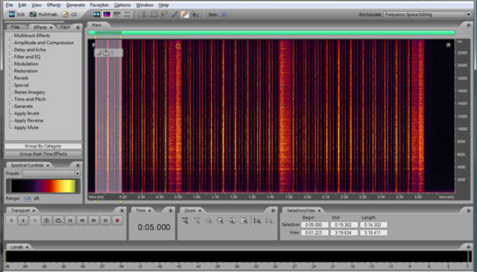 Minitest: Adobe Audition 3