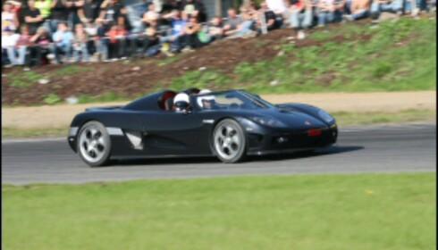 En periode var Sharif den stolte eier av verdens raskeste bil. Arkivfoto: Autofil