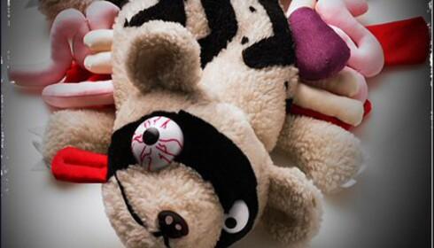 Skummelt, ekkelt eller morsomt? Bilde: Roadkilltoys.com.