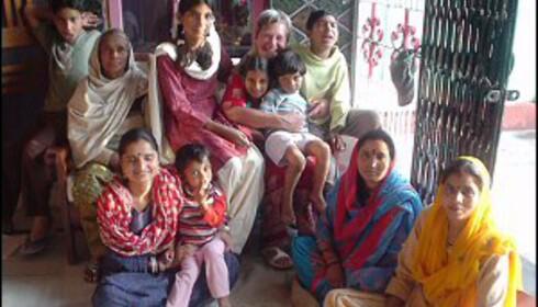 Du kan reise over hele verden for å jobbe som frivillig. Liv Bolsø valgte sitt andre hjemland, India. Foto: Privat Foto: Liv Bolsøs private bilder