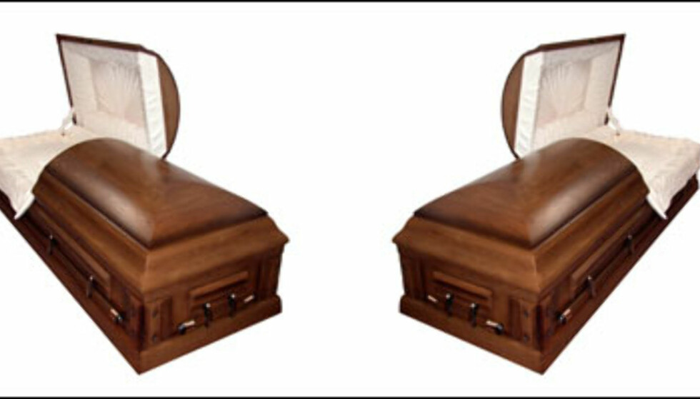 Illustrasjon: Jenny Erickson. Dette er kun en illustrasjon, kistene på bildet har ikke noe med kistene i historien å gjøre. Foto: Jenny Erickson