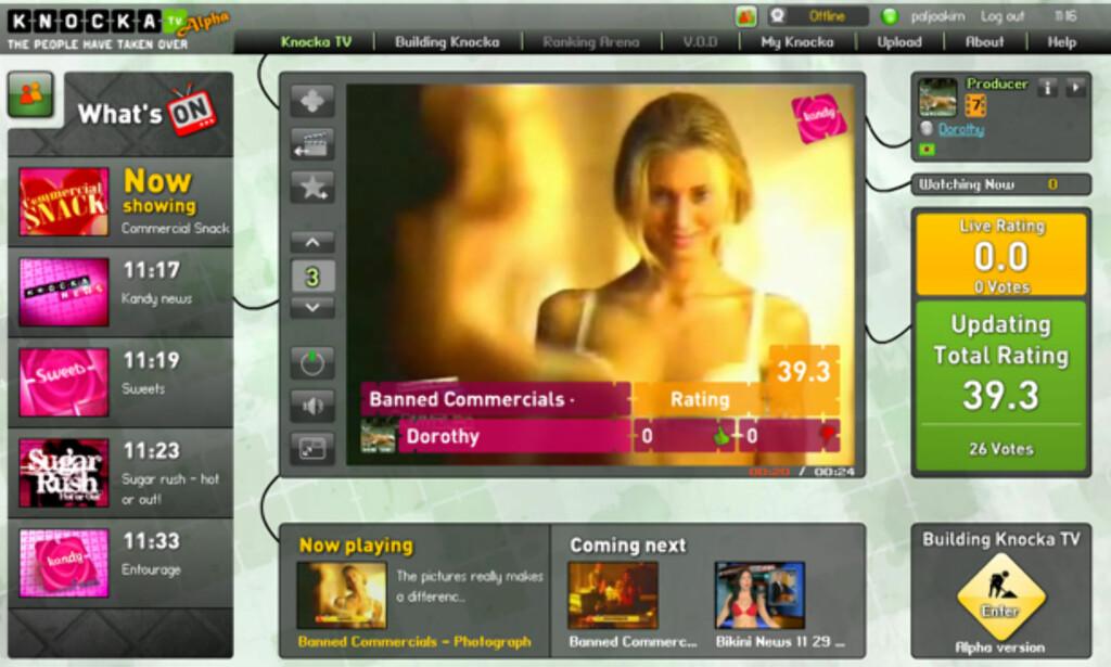 image: Knocka.tv - fremtidens TV