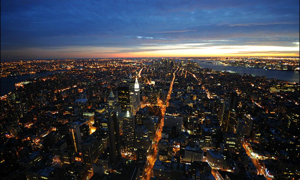 Reis til toppen av Empire State bygningen, ta med noen ginger nuts og nyt utsikten over julens New York.