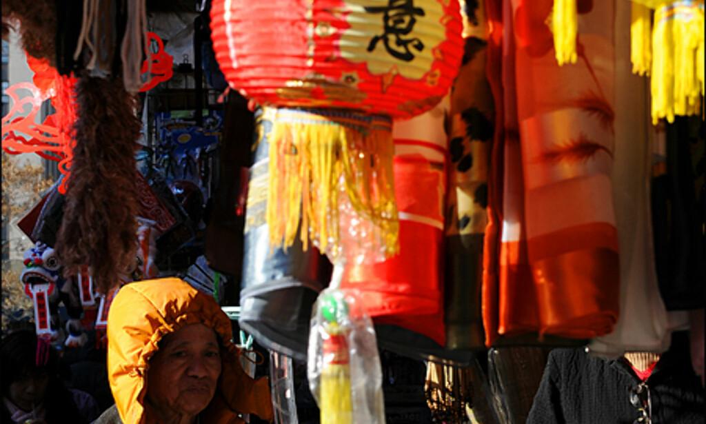 I Chinatown finner du alt fra illegalt fyrverkeri (annbefales ikke å kjøpe, til levende frosker og papirlamper.