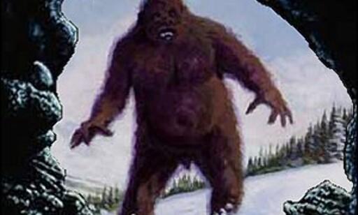 Er det slik den ser ut, den avskyelige snømannen? Foto: Occultopedia Foto: Occultopedia