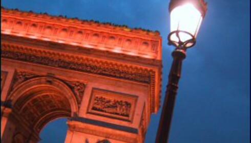 Champs Elysées bør unngås på nattestid.<br /> <i>Foto: Jan van Es</i> Foto: Jan van Es