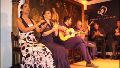 Flamencoshow på Corral de la Moreria.