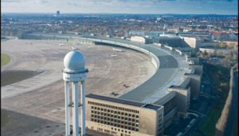 Snart er det slutt for Tempelhof.<br /> <i>Foto: Berlin - Tempelhof</i> Foto: Berlin - Tempelhof