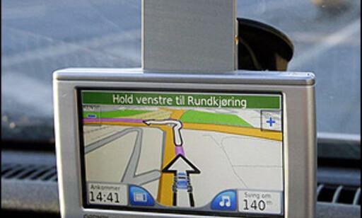 Frittstående navigasjonsenhet, Garmin