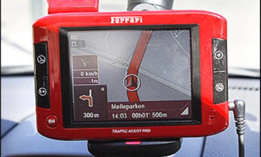 Frittstående navigasjonsenhet, Becker