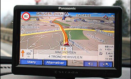 Frittstående navigasjonsenhet, Panasonic