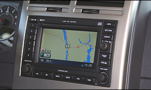 Fabrikkmontert navigasjon, Jeep