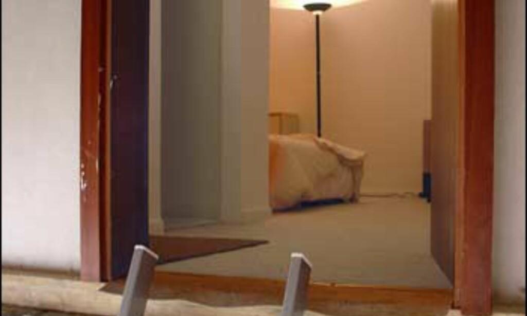 Du bør ikke være skrøpelig til beins ... Dette er inngangen. Foto: etienneboulanger.com
