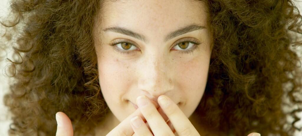 31 prosent vet ikke hva årsaken til dårlig ånde er. Illustrasjonsfoto: Colourbox.com Foto: Colourbox