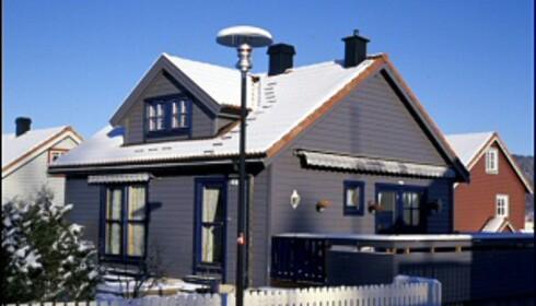 Du bør passe på å renske opp i takrenner og sjekke taket før snøen får lagt seg. <i>Foto: Ifi.no</i>