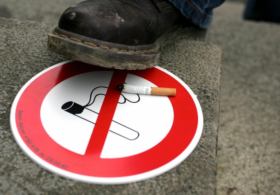 <strong>STUMP RØYKEN:</strong> Ikke tillat røyking i ditt eget hjem eller i bilen hvis du er allergisk. Illustrasjonsfoto: Colourbox.com