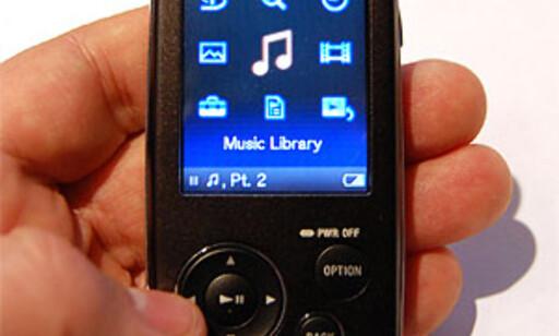 image: Sony NWZ-A816
