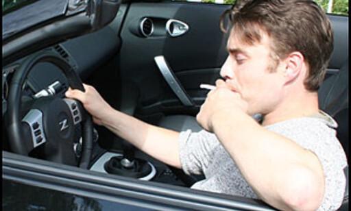 image:  - Forby røyking i bilen!