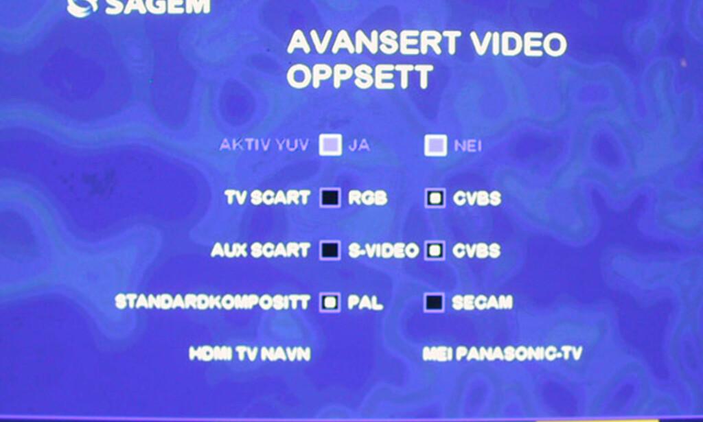 image: Skjermbilder Sagem dekoder for RiksTV