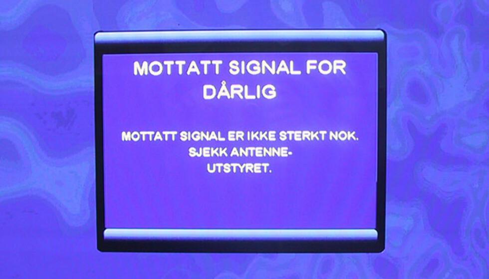 Skjermbilder Sagem dekoder for RiksTV