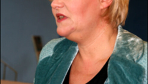 Finansminister Kristin Halvorsen.   Foto: Kim Jansson