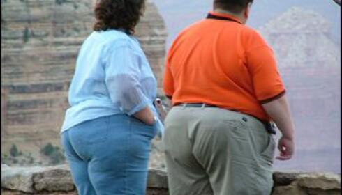 Over halvparten av amerikanere er overvektige. Foto: Bjørn Eirik Loftås