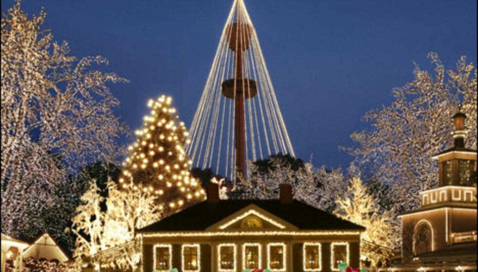 Jul på Liseberg.