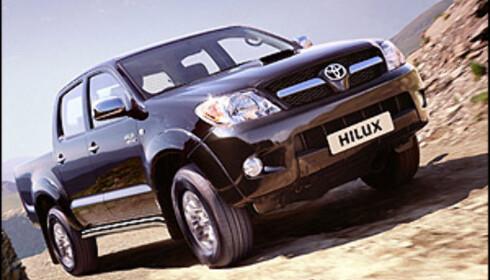Toyota stopper Hilux-salg