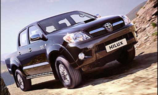 image: Toyota stopper Hilux-salg