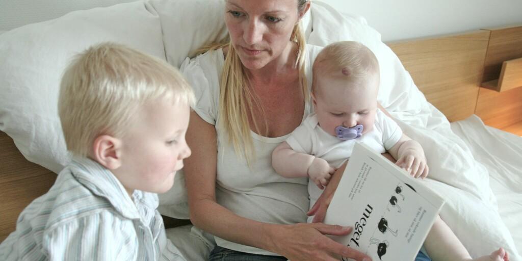 IKKE ETT FETT: Kroppsfett på de riktige stedene hos mor, er avgjørende for utviklingen av barnets hjerne. Foto: Foto: Colourbox.com