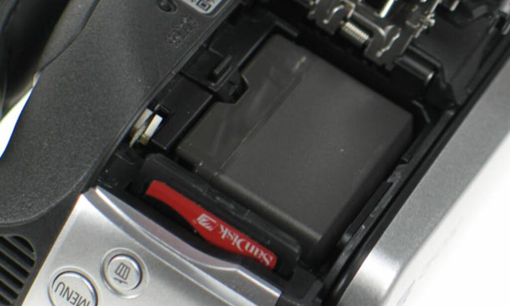image: TEST: HD-video rett på minnekort