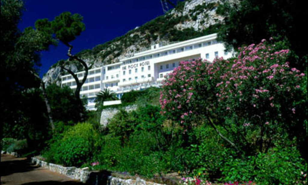 Rock Hotel, Gibraltar.