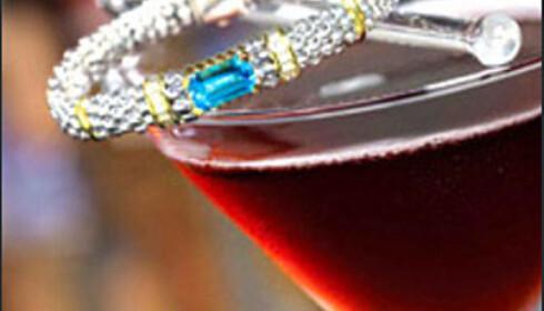 High Roller Martini.