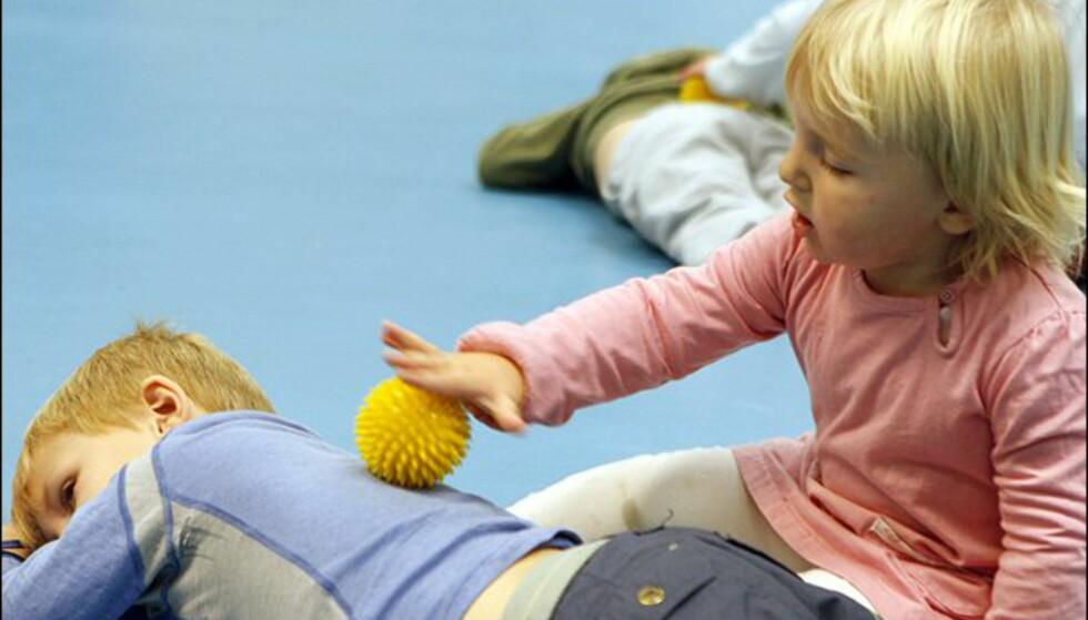 Massasje og avspenning er en deilig avslutning Foto: Per Ervland