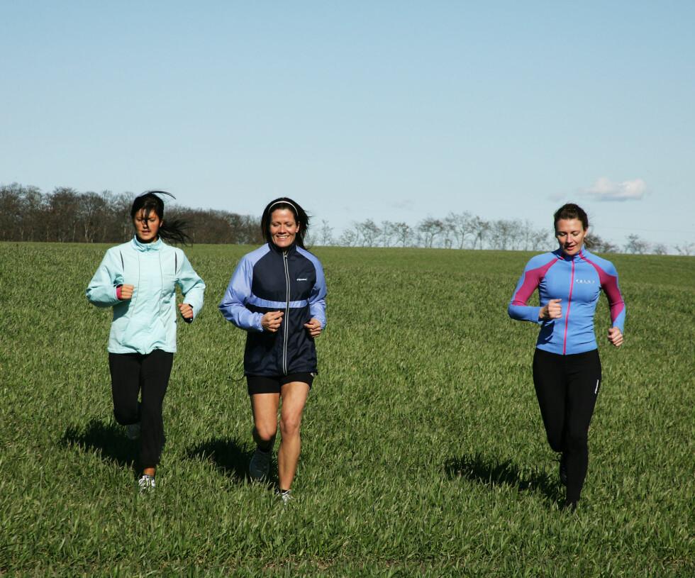 Løp sammen: Det er vanskeligere å bryte avtaler med en venn enn en avtale med seg selv. Illustrasjonsfoto: Colourbox.com