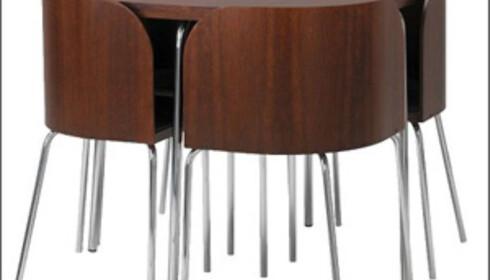 Smart og rombesparende spisebord fra Ikea. Foto: Ikea.no
