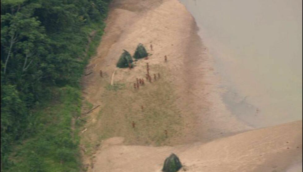 Bildet av indianerne i Amazonas. Foto: INRENA