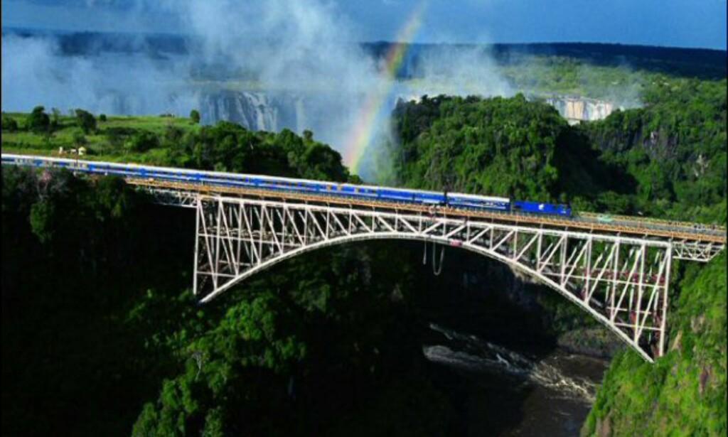 Dette er en av verdens vakreste togreiser.