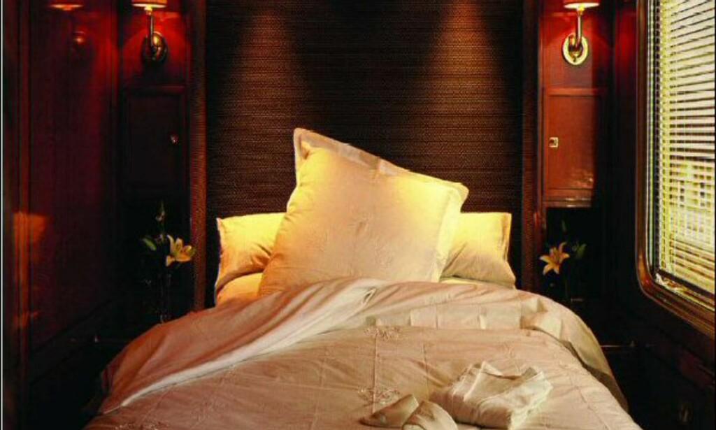 Slik ser Luxury-suiten ut.